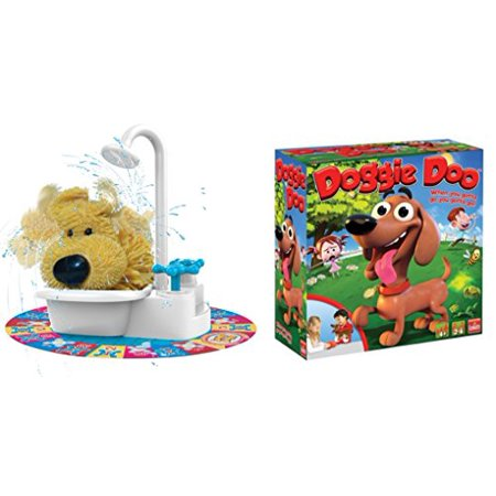 Indoor Fun Soggy Doggy Board Game Kids Hot Seller Plus Doggie Doo Bundle Of 2