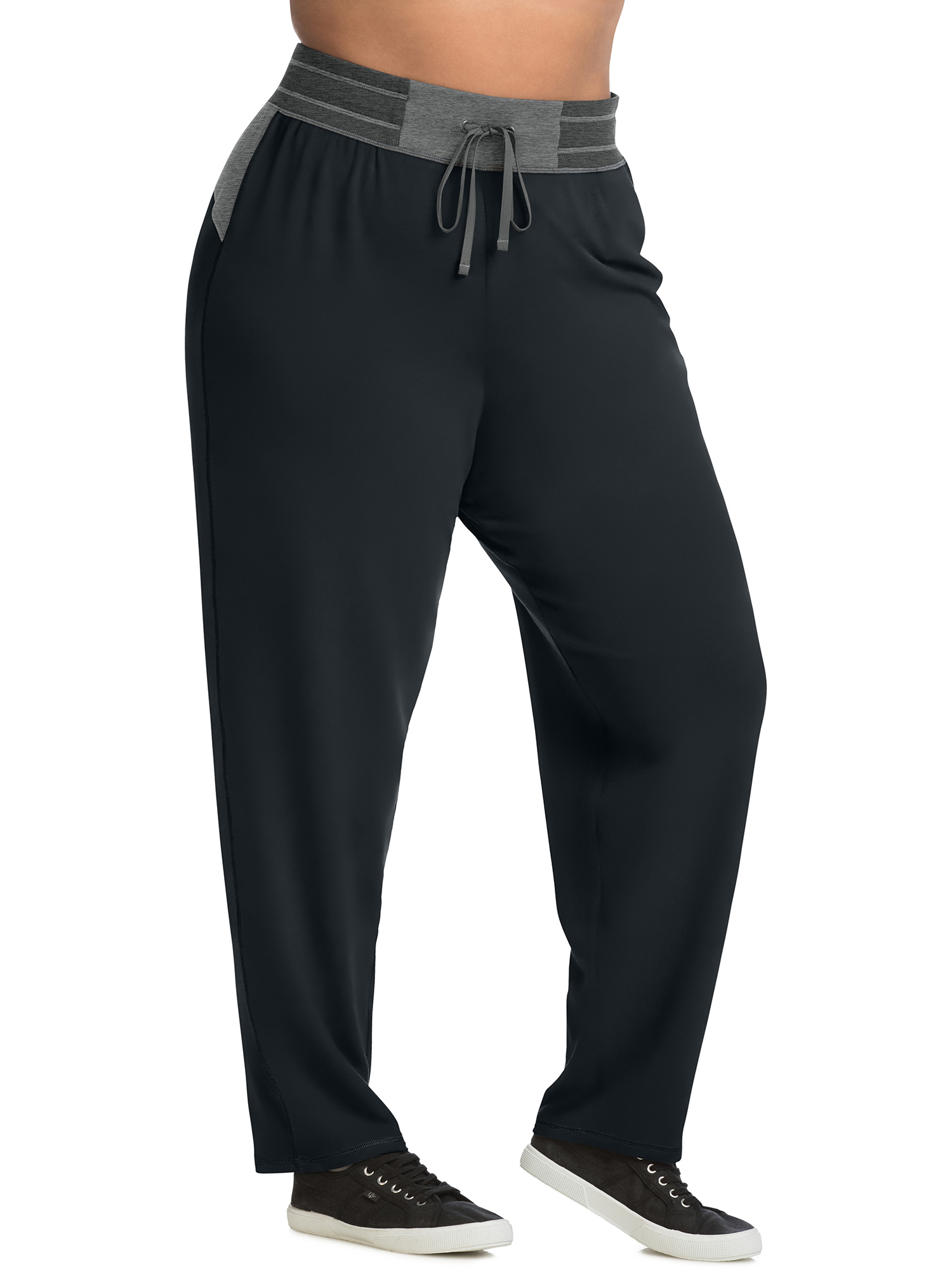 Just My Size Active French Terry Contrast Performance Pants