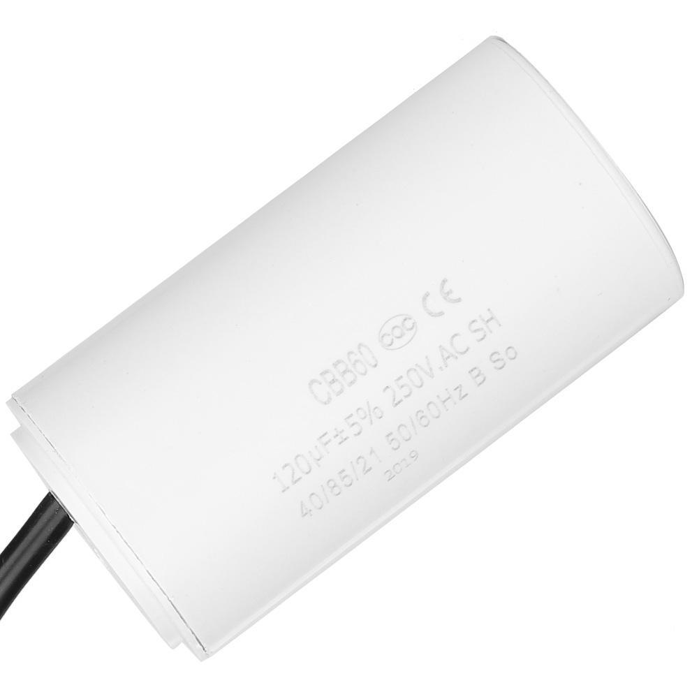 Regreso Condensador 120Mf 250Vac 50//60Hz Cbb60
