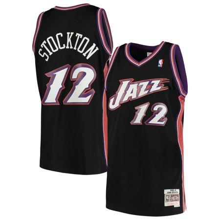 6d347dc312e John Stockton Utah Jazz Mitchell & Ness 1998-99 Hardwood Classics Swingman  Jersey - Black