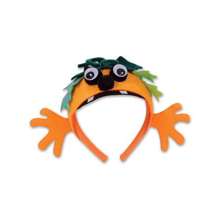 Adults Halloween Pumpkin Character Headband Costume Accessory - Halloween Pumpkin Headbands