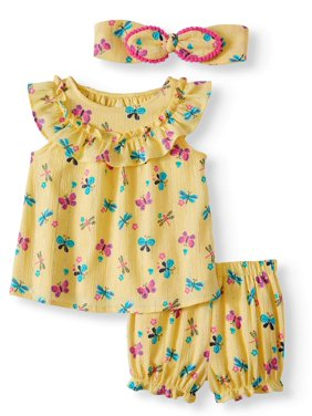 Baby Girl Top And Leggings Factories And Mines Outfits & Sets