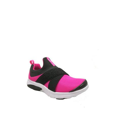 Athletic Works Girls' Slip On Running Shoe ()