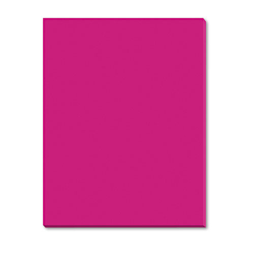 Riverside Construction Paper, 76 lbs., 9 x 12, Scarlet, 50 Sheets/Pack