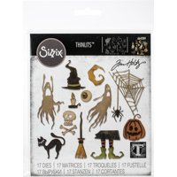 Sizzix Thinlits Die Set 17PK Frightful Things by Tim Holtz
