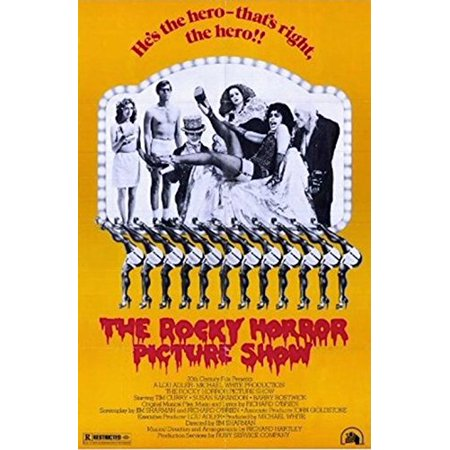 Art Tin - The Rocky Horror Picture Show 1975 36x24 Movie Art Print Poster Tim Curry Musical