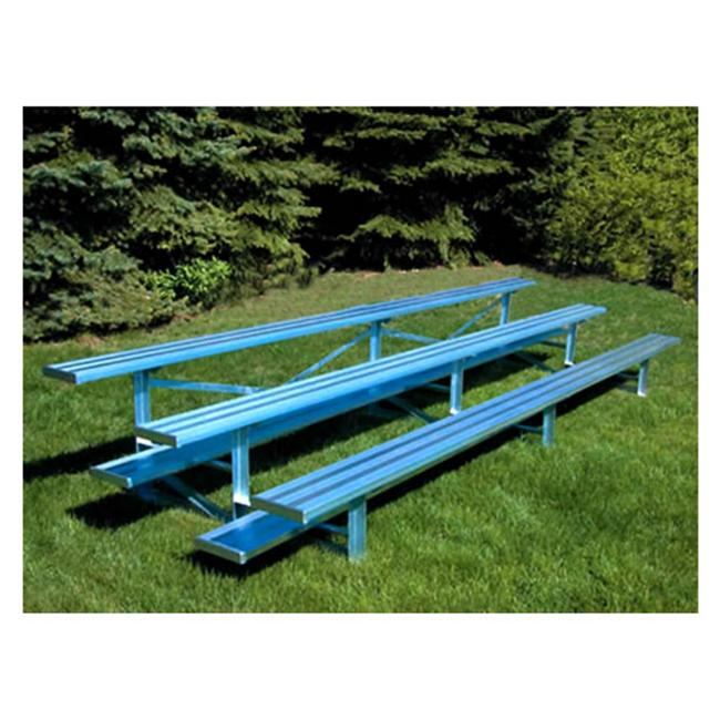Jaypro Sports BLCH-3AL 3 Row 15 ft. Aluminum Bleacher by Jaypro Sports