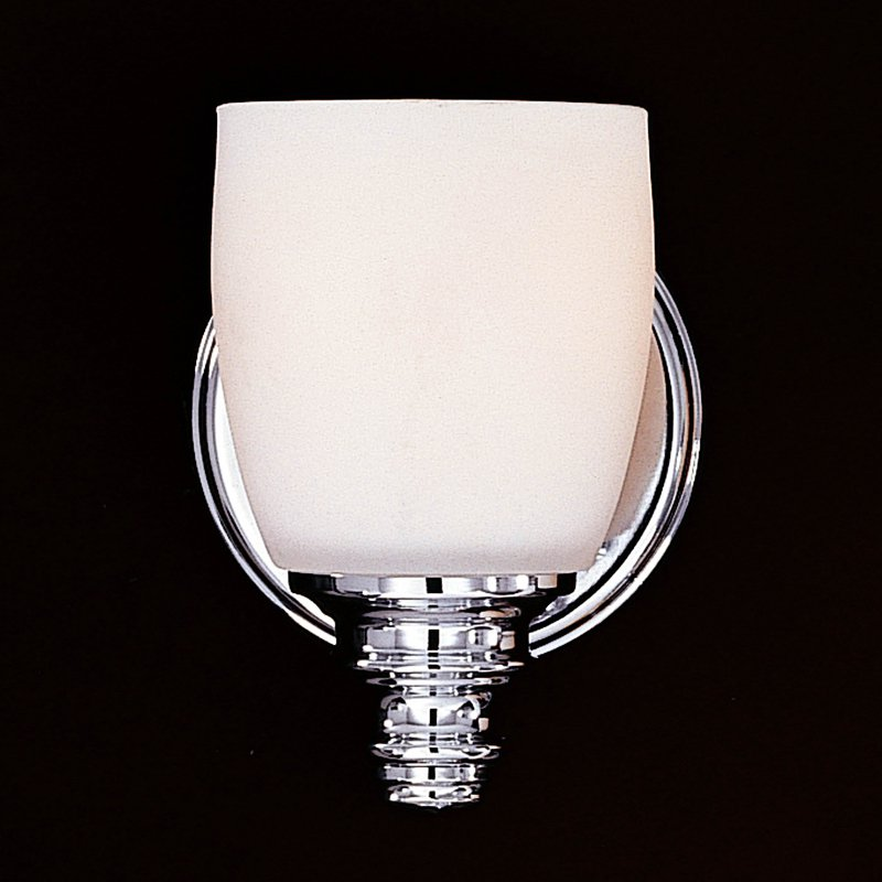 Feiss Bentley Bathroom Wall Sconce 5W in. Chrome by Murray Feiss