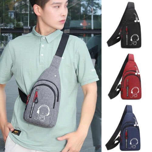 Meihuida - Mens Sling Bag Chest Shoulder Backpack Fanny Pack Crossbody  Travel Sport - Walmart.com - Walmart.com