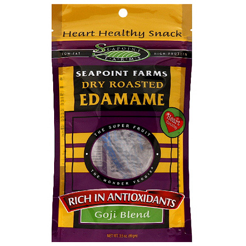 Seapoint Farms Dry Roasted Edamame, 3.5 oz (Pack of 12)