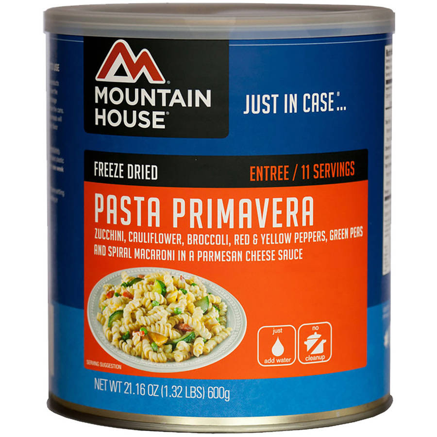 Mountain House Pasta Primavera Can by Liberty Mountain