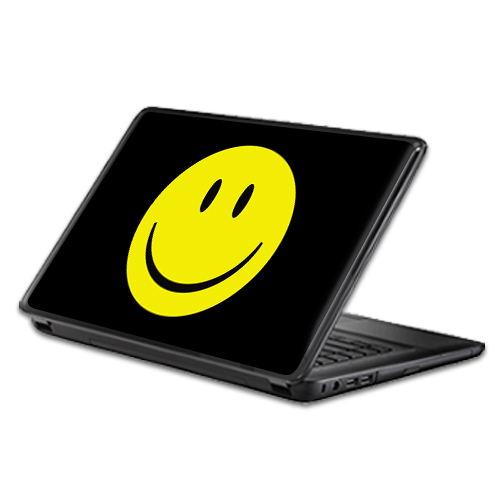 MightySkins Protective Vinyl Skin Decal Wrap for Universal Laptop Apple Asus Acer Dell Lenovo Sony Toshiba 11 13 15 17 sticker cover Smiley Face