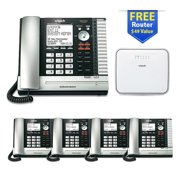 Vtech ErisBusiness UP416 Main Console Phone with UP406-4 Desksets