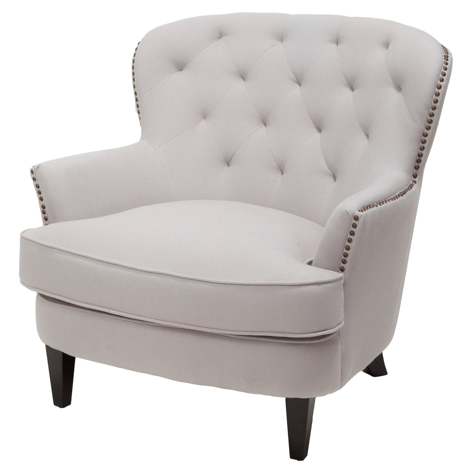 Best Selling Home Waldorf Diamond Tufted Club Chair by GDF Studio