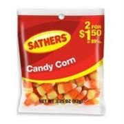 Sathers Candy Corn 12 pack (3.25oz per pack) (Pack of 6)