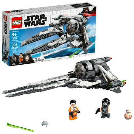 LEGO Star Wars Black Ace TIE Interceptor 75242 Building Set Star Wars Naboo Fighter
