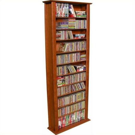 Venture Horizon 76  Tall Cd Dvd Wall Media Storage Rack