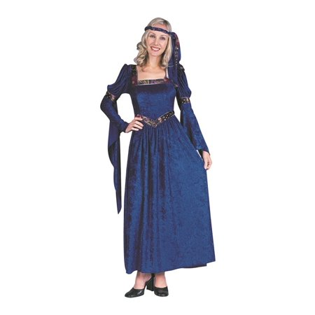 Renaissance Beauty-Blue Xl - Renaissance Medieval Dresses