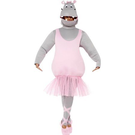 Ballerina Hippo Adult Costume (Adult Hippo Costume)