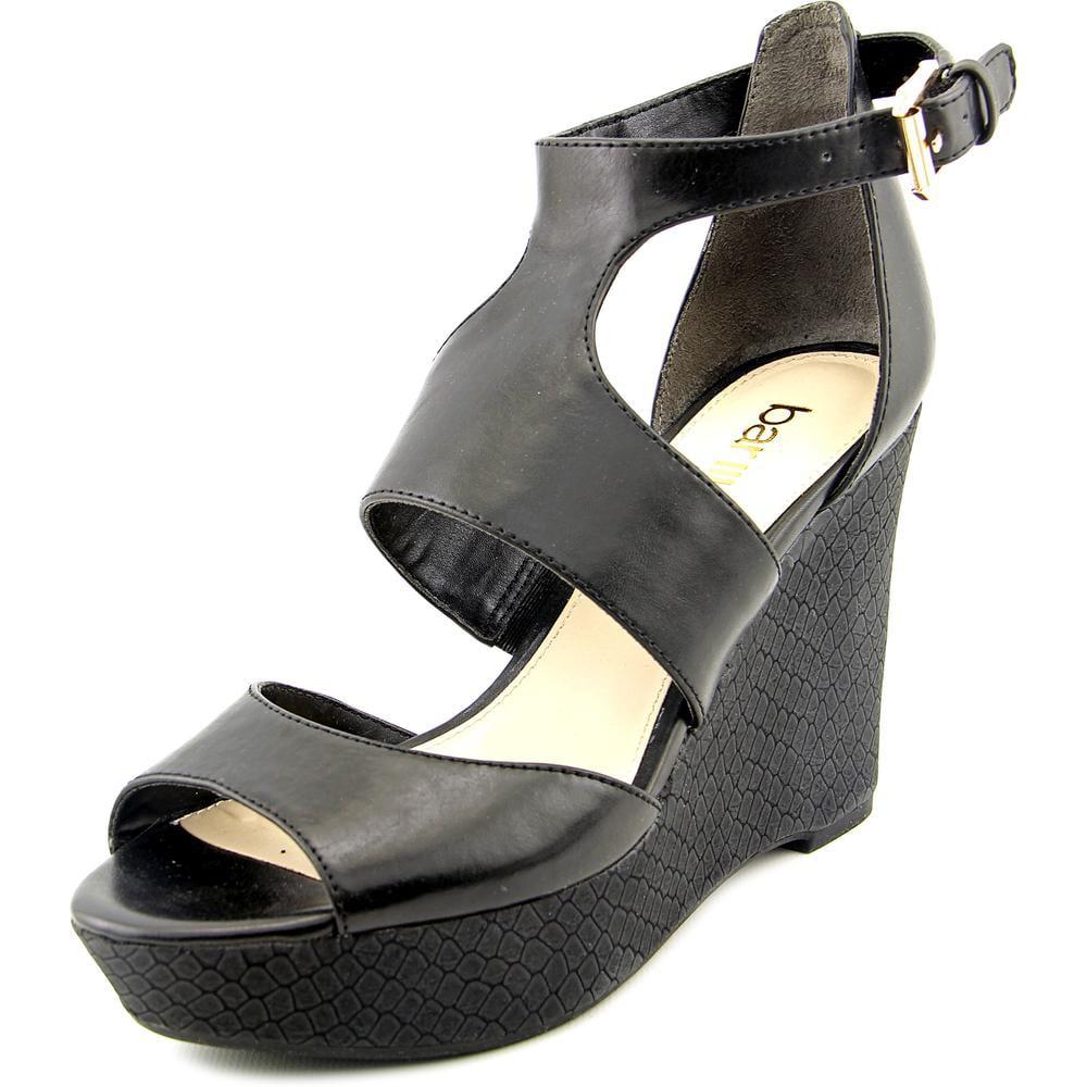 Image of Womens bar III Sophie Wedge Platform Sandals - Black