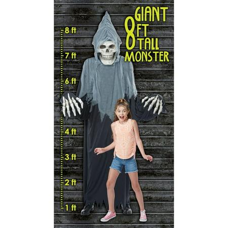 Terror En Halloween Bromas (Men's Towering Terror Reaper)