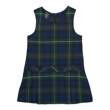 Toddler Girls School Uniform Parochial Plaid Jumper