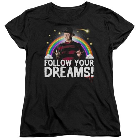 Friday The 13Th - Follow Your Dreams - Women's Short Sleeve Shirt - XX-Large
