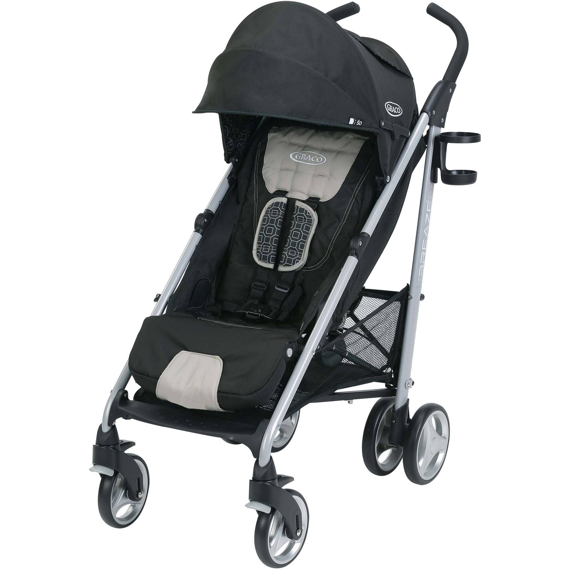 Graco Breaze Click Connect Umbrella Stroller, Pierce by Graco