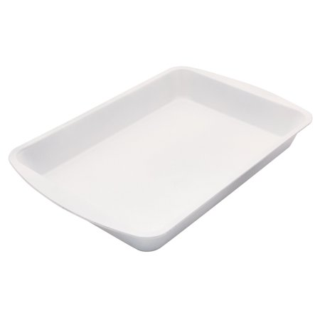 BC2000 Range Kleen Roaster Pan, 9 by 13-Inch, White, Before first use, wash product; Bakeware is dishwasher safe; however, the release.., By CeramaBake (Cerama Bake)