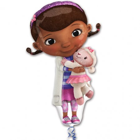 Doctor Mcstuffin Party Supplies (Doc McStuffins Foil Balloon)