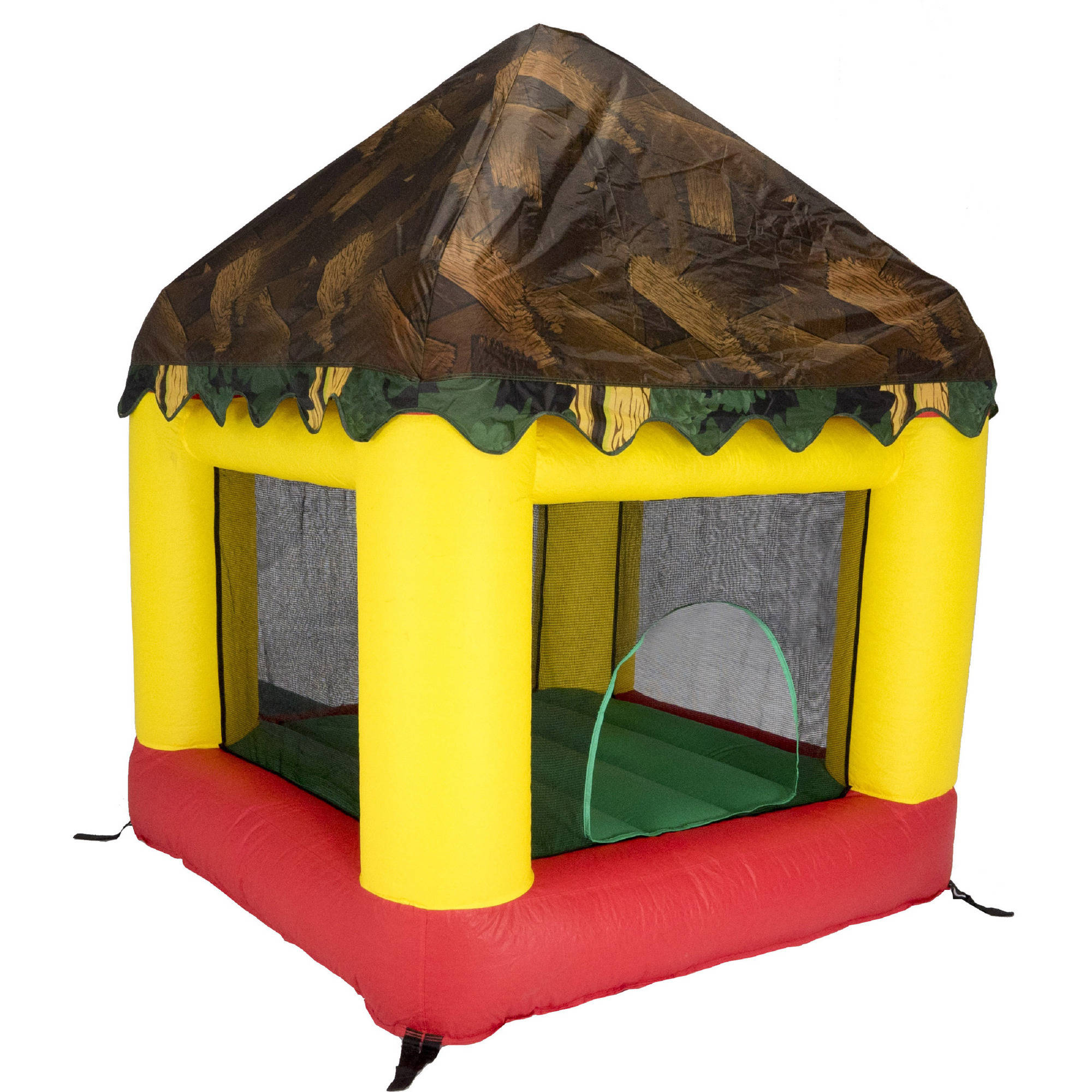 Bazoongi Tree House Cover for 6.25' x 6' Bounce House (Co...