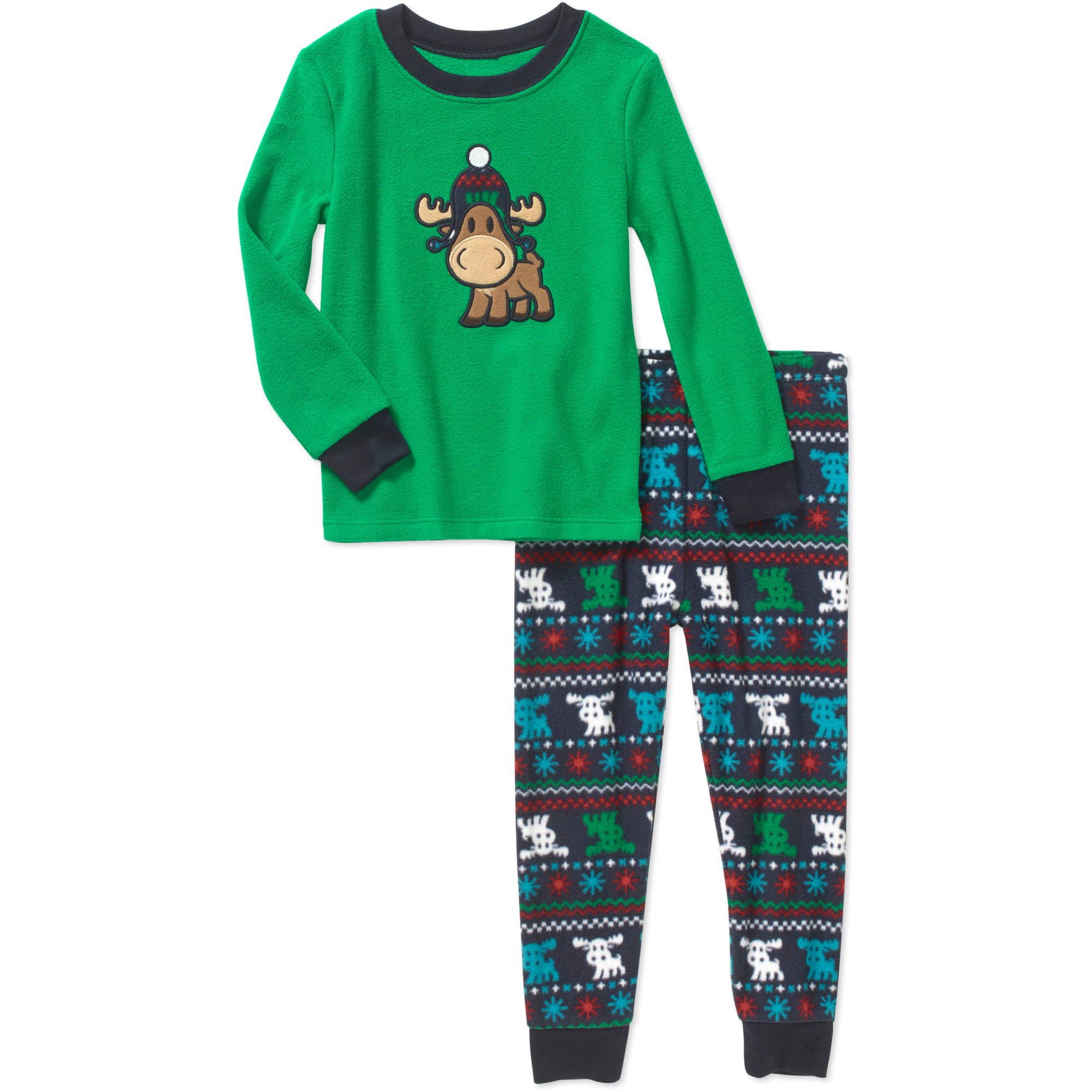 Healthtex Baby Toddler Boy Plush Pajama Set