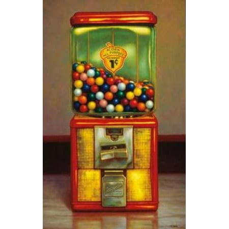 Gumball Machine X Poster Print by TR Colletta (Gumball Machine Walmart)