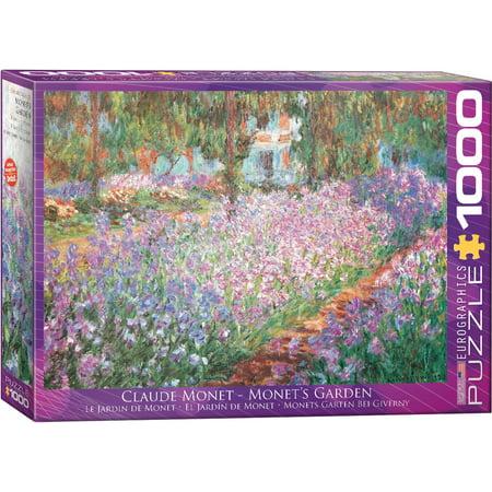 Monets Garden by Claude Monet 1000-Piece Puzzle