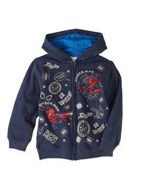 marvel spider-man little boys' hoodie