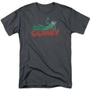Gumby On Logo Mens Short Sleeve Shirt