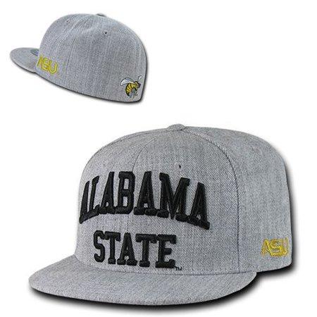 ASU Hornets Alabama State University NCAA Fitted Flat Bill - Hat   Cap  7  1 8 - Walmart.com 218fe103729c