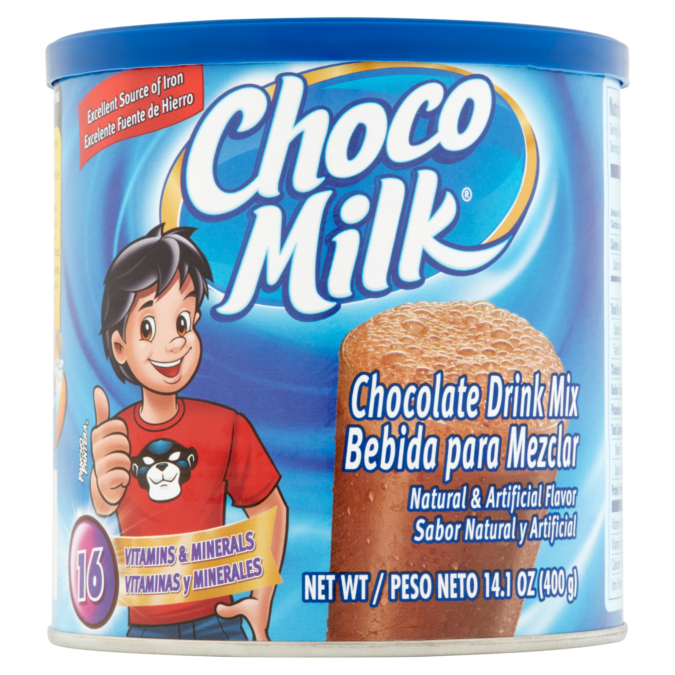 (2 Pack) Choco Milk Chocolate Drink Mix, 14.1 oz