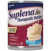 Suplena Formula, Vanilla, 8 Ounce Can, with Carb Steady, Abbott 62088 - Case of 24