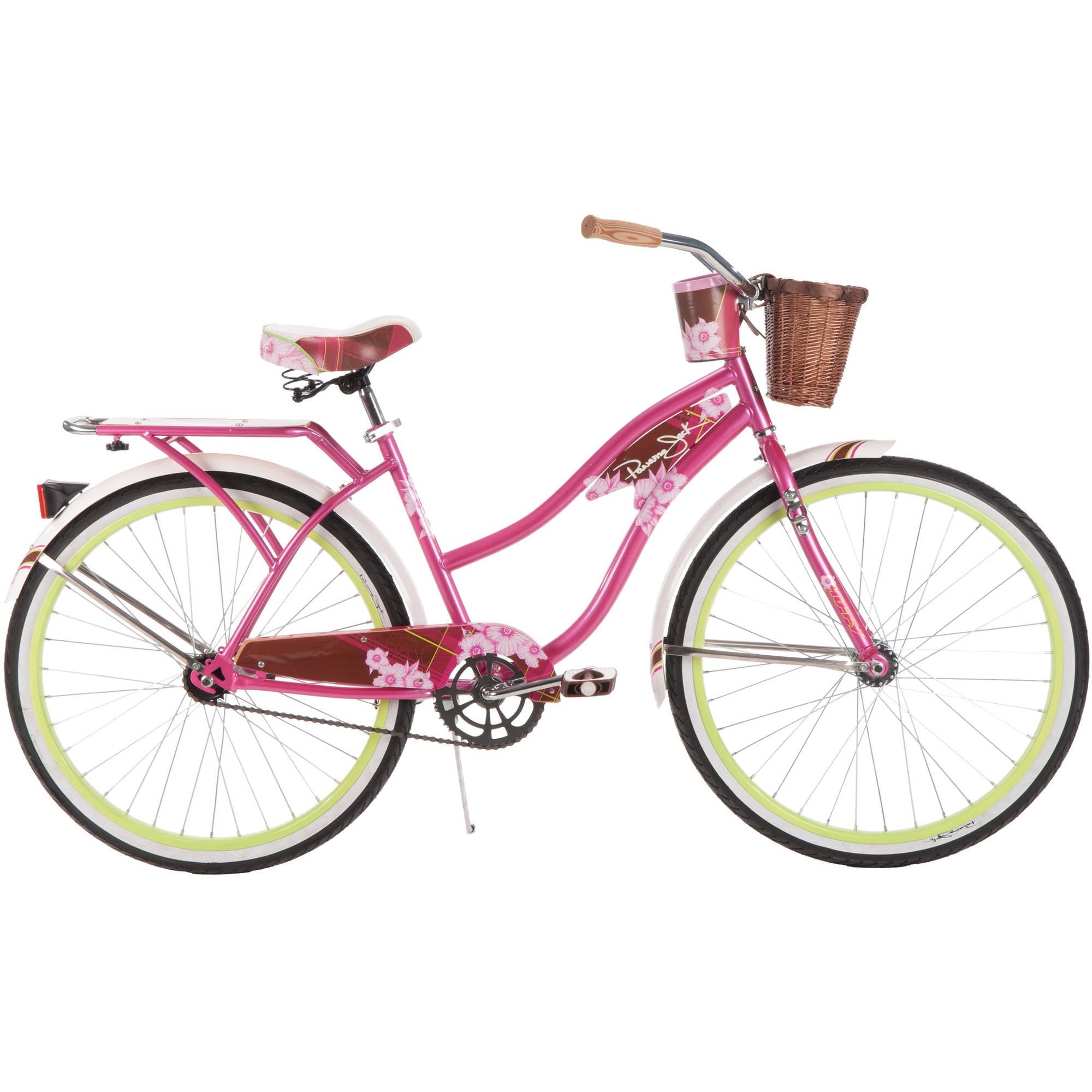 """26"""" Huffy Panama Jack Women's Cruiser Bike, Pink"""