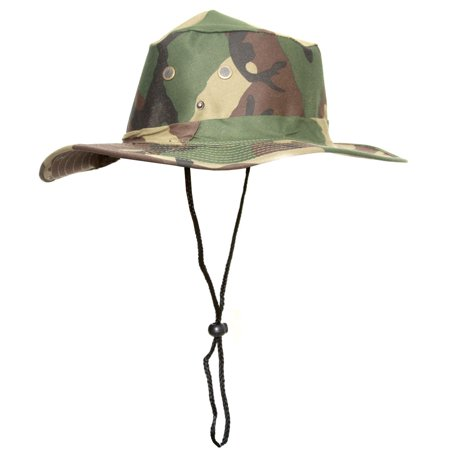 Topheadwear boonie camo style fishing bucket hat cap for Fishing hats walmart