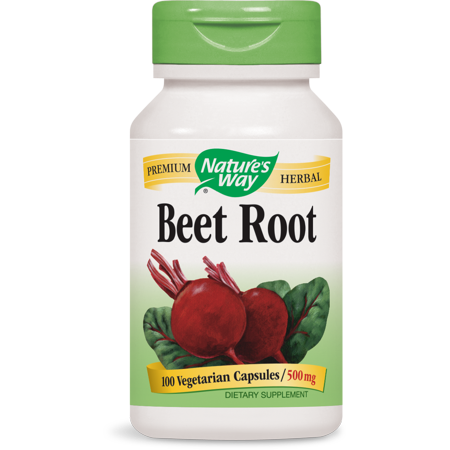 Nature's Way Beet Root Capsules, 500 Mg, 100 (Best Natures Way Beets)