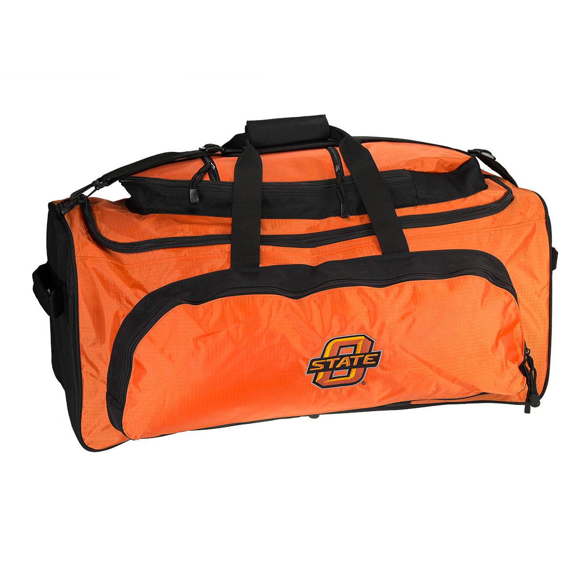 "NCAA Heavy Duty Collegiate Sport 27"" Large Duffel Tote Bag School College Duffle"