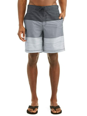 ff5c2b7180 Product Image Men's Text Color Block Eboard 9-Inch Swim Short , up to size  5XL