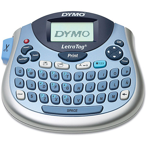DYMO LetraTag Desktop Label Maker, 2 lines