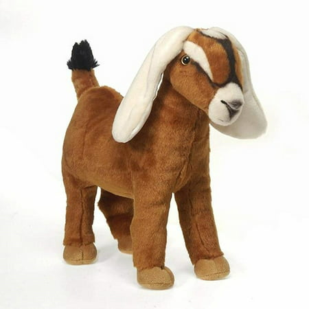 Fiesta Toys Nubian Goat 12'' Inches My Farm Sheep Stuffed Lamb Plush Animal Pet](Fiesta Stuffed Animals)