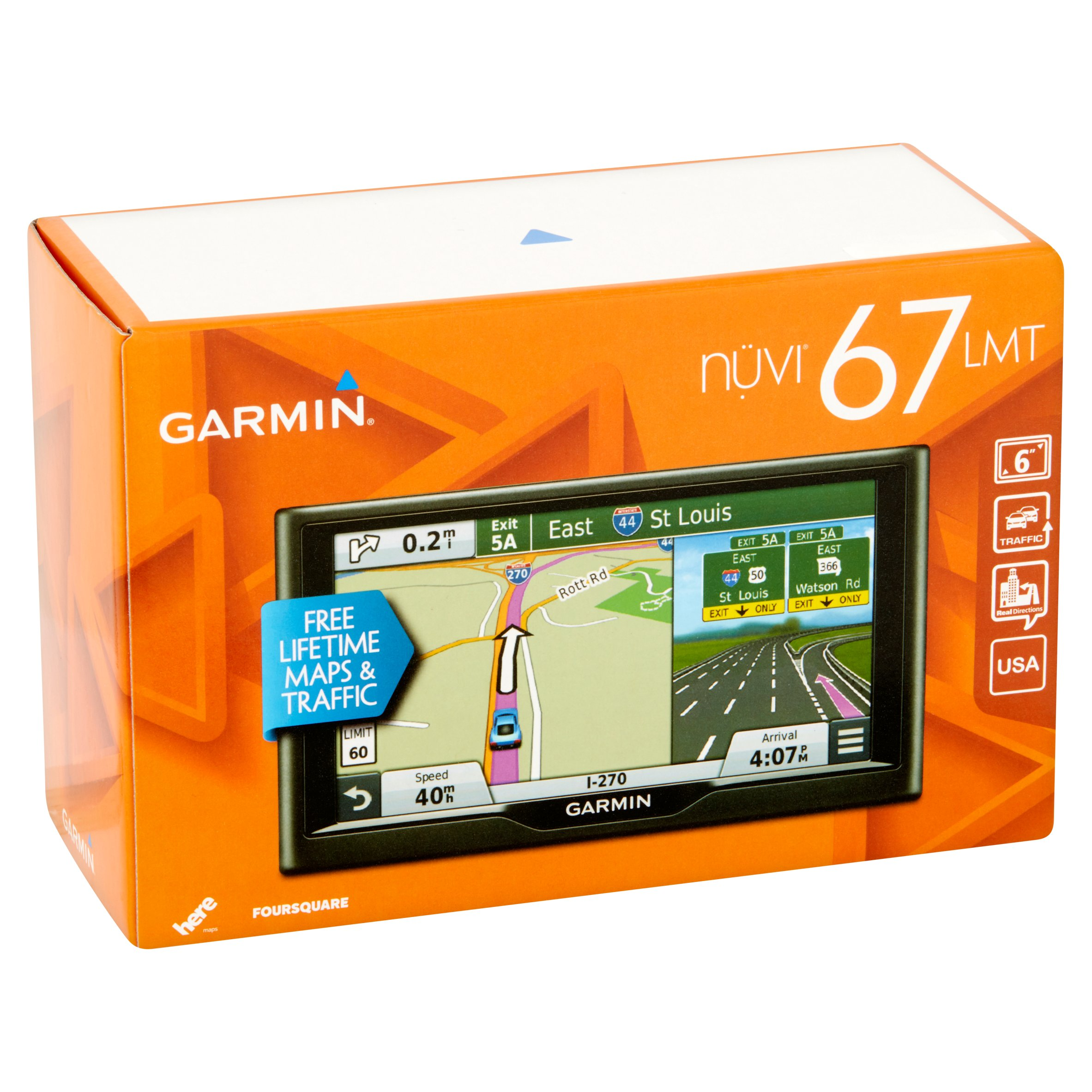 Garmin Nuvi Gps Unit With Maps Of The Us And Canada Gps Coverage Map Usa