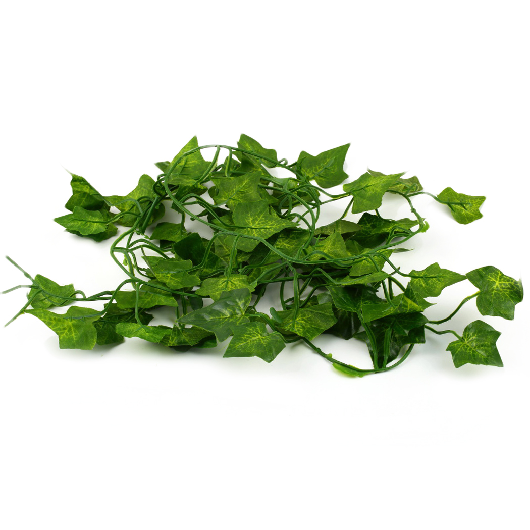 utgeek 6.56'' Artificial Ivy Foliage Leaf Flowers Plants Garland for Home Garden Festival Decor