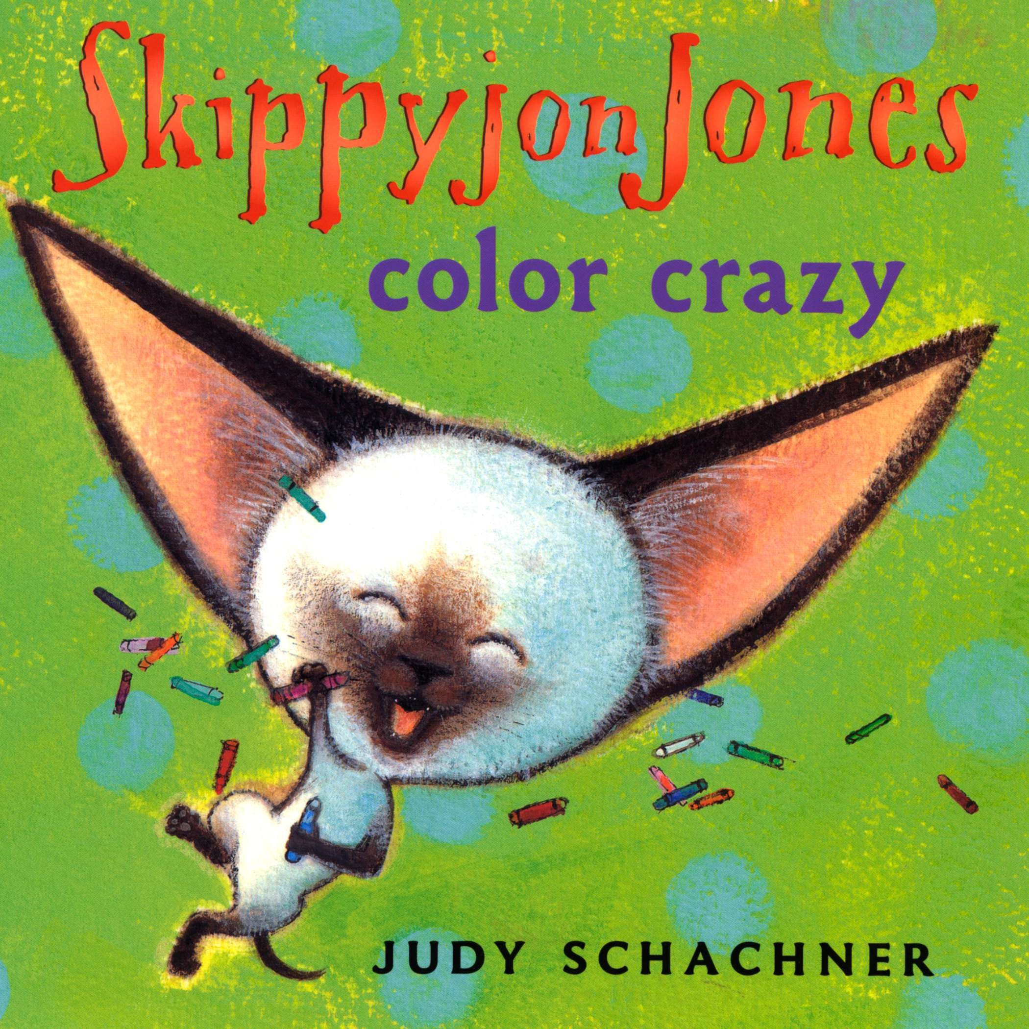 Skippyjon Jones Color Crazy (Board Book)
