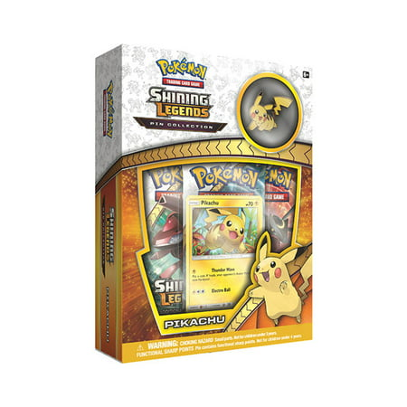 Pokemon TCG: Shining Legends Pin Collection Pikachu - Pikachu Photos